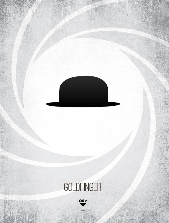 20131118 085141 James Bond Minimalist Prints