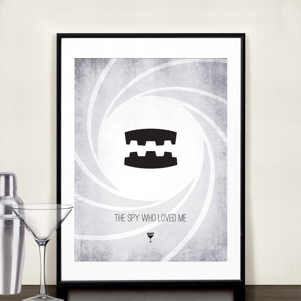 20131118 085155 James Bond Minimalist Prints
